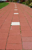 Dutch Bike Path Stock Photography