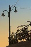 Dutch bikes Stock Photography