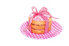 Dutch biscuits with rusks Royalty Free Stock Photography