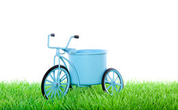 Dutch blue transport  bycicle Stock Images