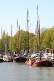 Dutch Boats Royalty Free Stock Photos