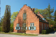 Dutch brick house Stock Image