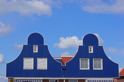 Dutch building facades. In the Netherlands Stock Images