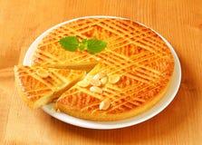 Dutch Butter Cake (Boterkoek) Stock Image