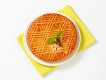 Dutch Butter Cake (Boterkoek) Royalty Free Stock Image