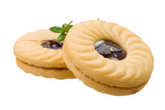 Dutch butter cookies Royalty Free Stock Images