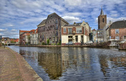 Dutch Canal Stock Photography