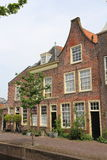 Dutch Canal houses Stock Photos