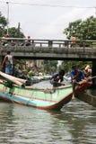 Dutch Canal. In Sri Lanka Stock Image