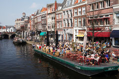 Dutch canal Royalty Free Stock Image