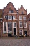 Dutch canalside house Stock Photos