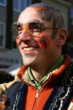 Dutch Carnival Man. Venlo, Netherlands, 7th Mar 2011, Carnival Parade in Venlo stock photos
