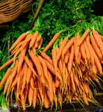 Dutch carrots for sale Stock Photos