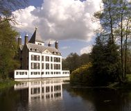 Dutch castle 13. Castle Renswoude, Holland Royalty Free Stock Photo