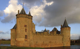 Dutch castle 14. Castle Muiderslot, Muiden, Holland royalty free stock photos
