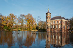 The Dutch castle Bouvigne in fall Stock Photos