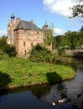 Dutch castle Cannenburch stock images