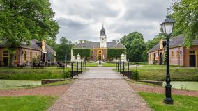 Dutch castle the  Fraylemaborg Royalty Free Stock Images