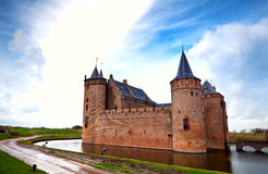 Dutch castle in Muiden Royalty Free Stock Photography