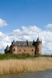 Dutch castle Muiderslot Stock Image