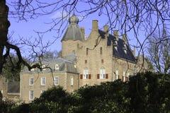 Dutch Castle. Rechteren near Ommen, the Netherlands Royalty Free Stock Image