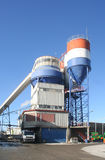 Dutch Cement Factory Stock Images