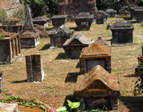 Dutch Cemetery. The Dutch cemetery in Kochi stock images