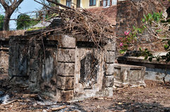 Dutch cemetery in Fort Kochi Royalty Free Stock Photos