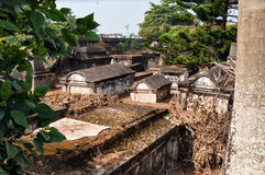 Dutch cemetery in Fort Kochi Royalty Free Stock Image