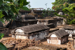 Dutch cemetery in Fort Kochi Stock Images