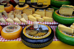 DUTCH CHEESE MAN  HOLLAND Royalty Free Stock Photography