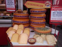 Dutch Cheese Royalty Free Stock Images
