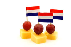 Dutch cheese snacks on Royalty Free Stock Photo