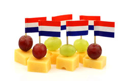 Dutch cheese snacks Royalty Free Stock Photos