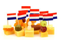 Dutch cheese snacks Stock Photo