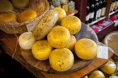 Dutch cheeses Royalty Free Stock Photo