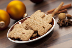Dutch christmas cookies Stock Photography