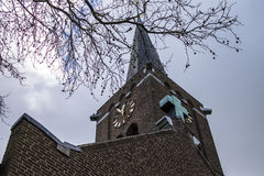 Dutch church Royalty Free Stock Photography