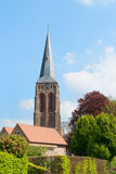 Dutch churchtower Stock Images