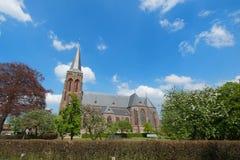 Dutch churchtower Stock Photo
