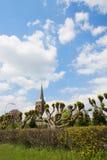 Dutch churchtower Stock Photography