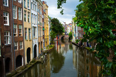 Dutch City Royalty Free Stock Photos
