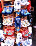 Dutch cloggs for sale, Volendam. Stock Image