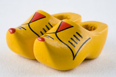 Dutch clogs stock photography