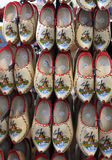 Dutch Clogs. A selection of Dutch clogs hanging in a shop ready for sale Stock Photography