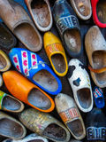 Dutch Clogs Background Stock Photos