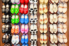 Dutch Clogs at The Hague royalty free stock image