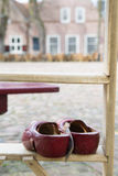 Dutch clogs for sale Stock Photography