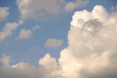 Dutch clouds Royalty Free Stock Photography