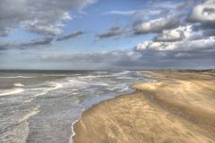 Dutch Coast Stock Image